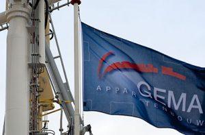 Gema Apparatenbouw vlag
